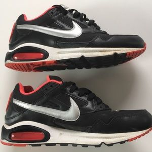 Nike Air Max Skyline Black/Silver/Cosmic Red 2011